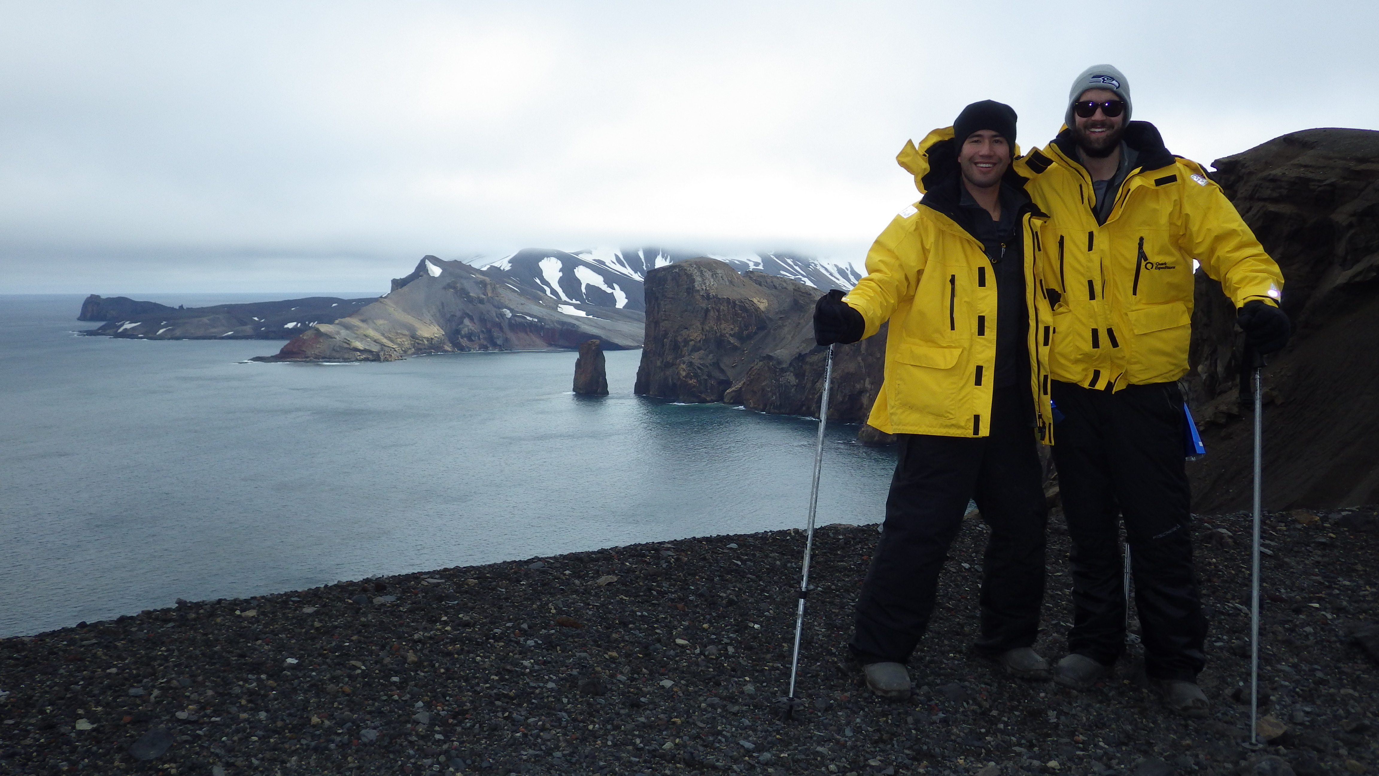 Me and Will. Another preview of Antarctica!